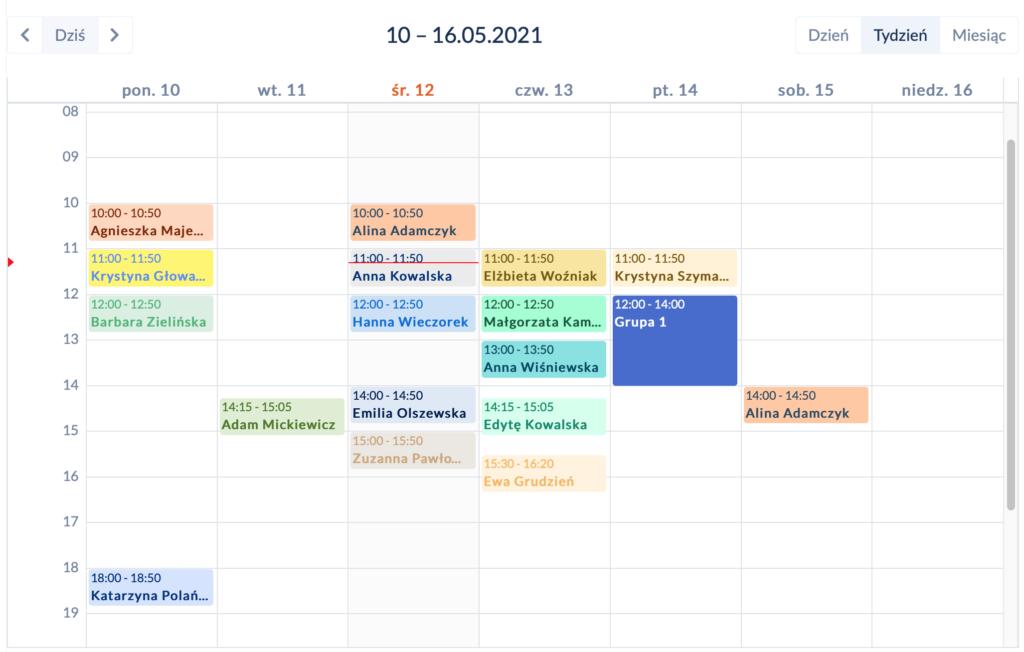 Kalendarz w DobrymGabinecie